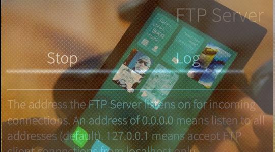 Prosty Serwer FTP dla Sailfish OS.